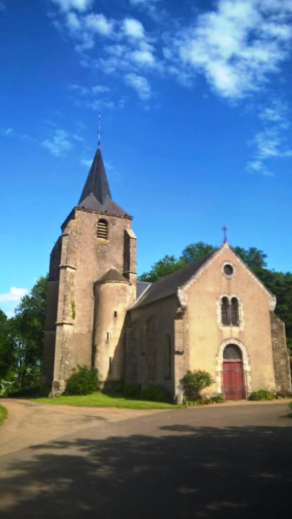 Authiou (58) - église Saint-Sulpice - la Sauvegarde de l'Art Français