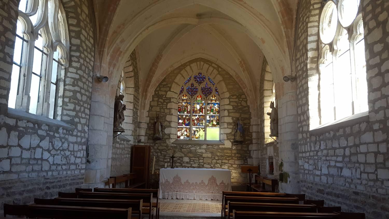 Montfey (10) - église Saint-Léger - La Sauvegarde de l'Art Français