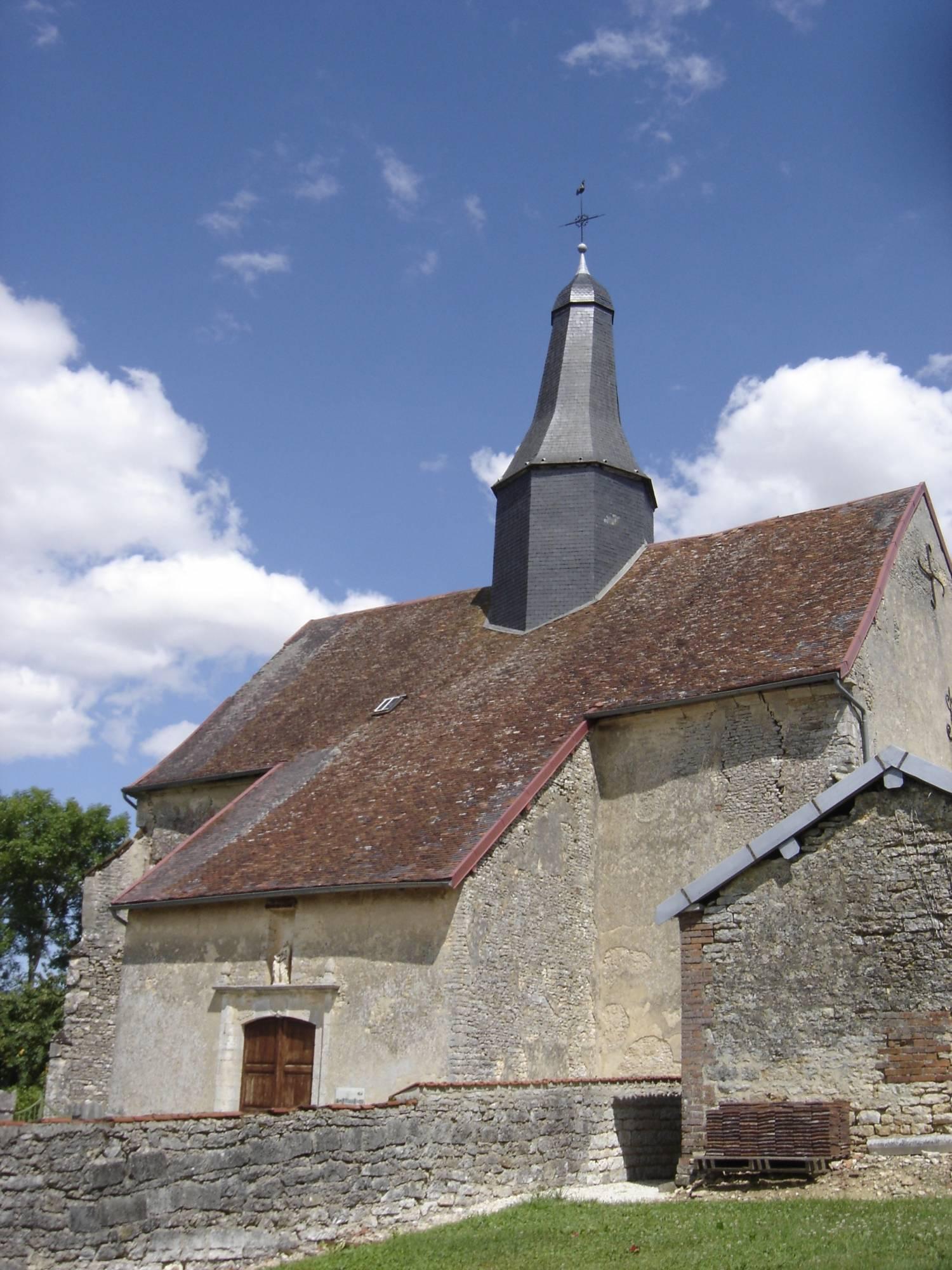 Puits-et-Nuisement (10) - église de l'Assomption-de-la-Vierge - La Sauvegarde de l'Art Français
