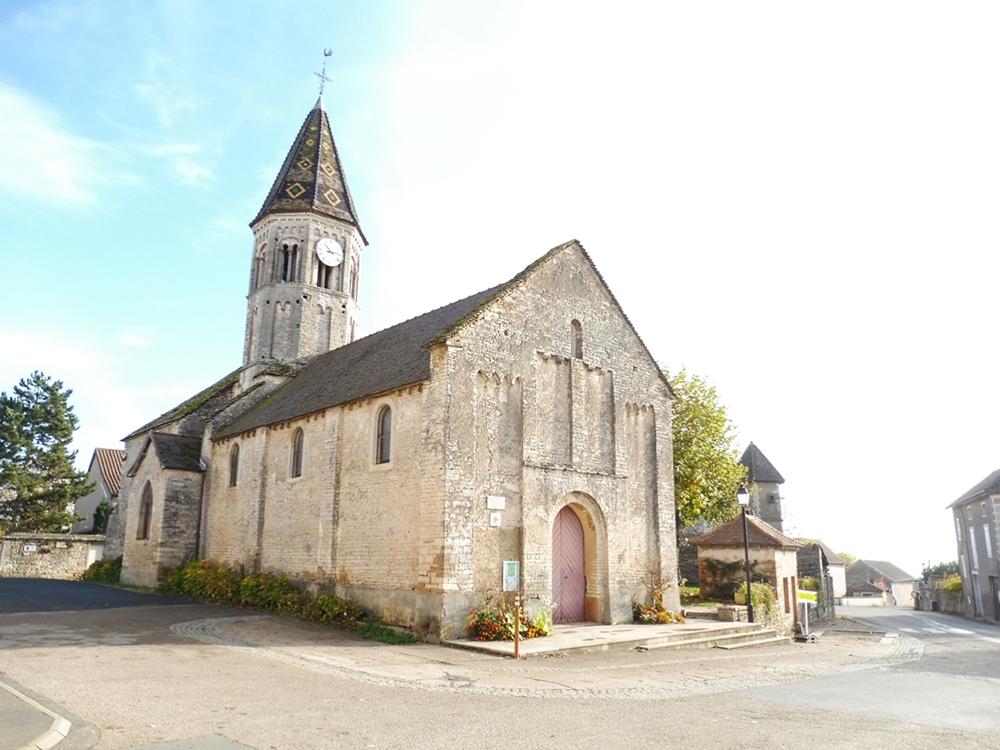 Clessé (71) - église ND - La Sauvegarde de l'Art Français