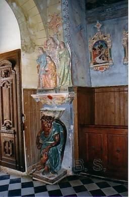 Rennes-le-Château (11) - église Sainte-Marie-Madeleine - La Sauvegarde de l'Art Français