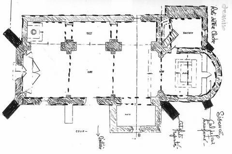 Sigonce (04) Eglise Saint-Claude - Sauvegarde de l'Art Français