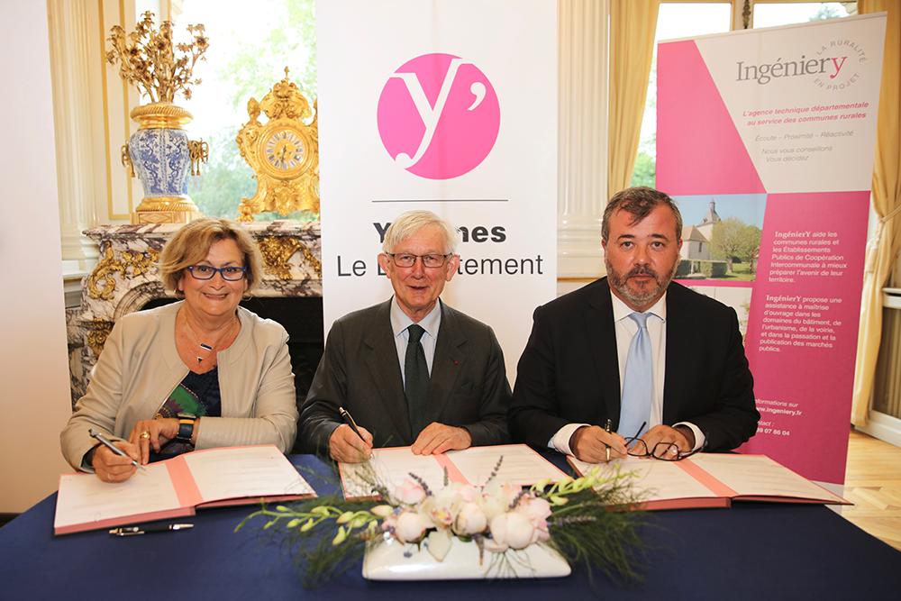 Signature convention Yvelines - La Sauvegarde de l'Art Français