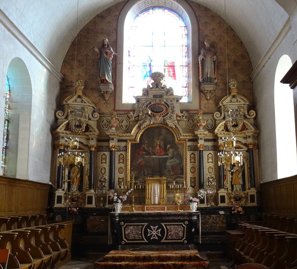 Souvigné-sur-Sarthe (72) Eglise Saint-Maurille - La Sauvegarde de l'Art Français