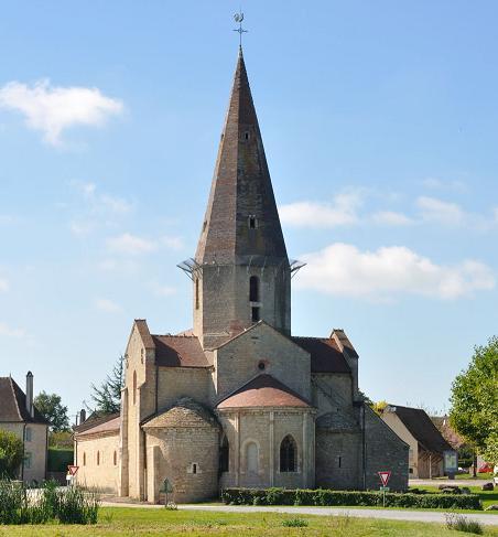 Saint-Christophe-en-Bresse (71) - église Saint-Christophe