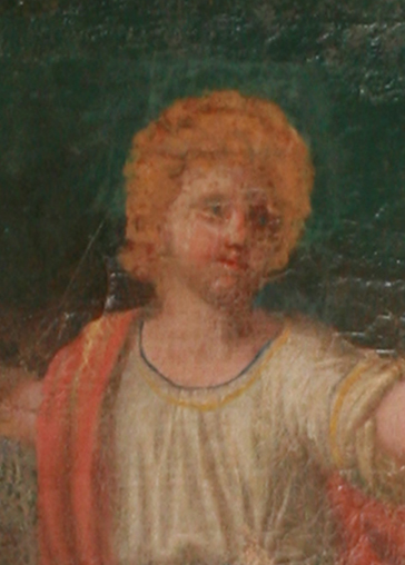 Lamberville (50) Eglise Saint-Jean-Baptiste - La Sainte-Famille - Sauvegarde de l'Art Français