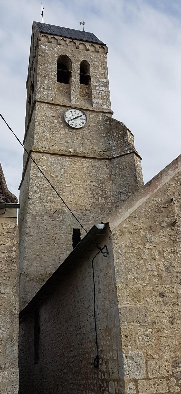 Intréville (28) - Eglise Saint-Laurent