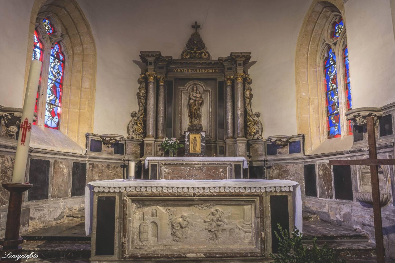 Bogny sur Meuse - Collégiale Saint Vivent