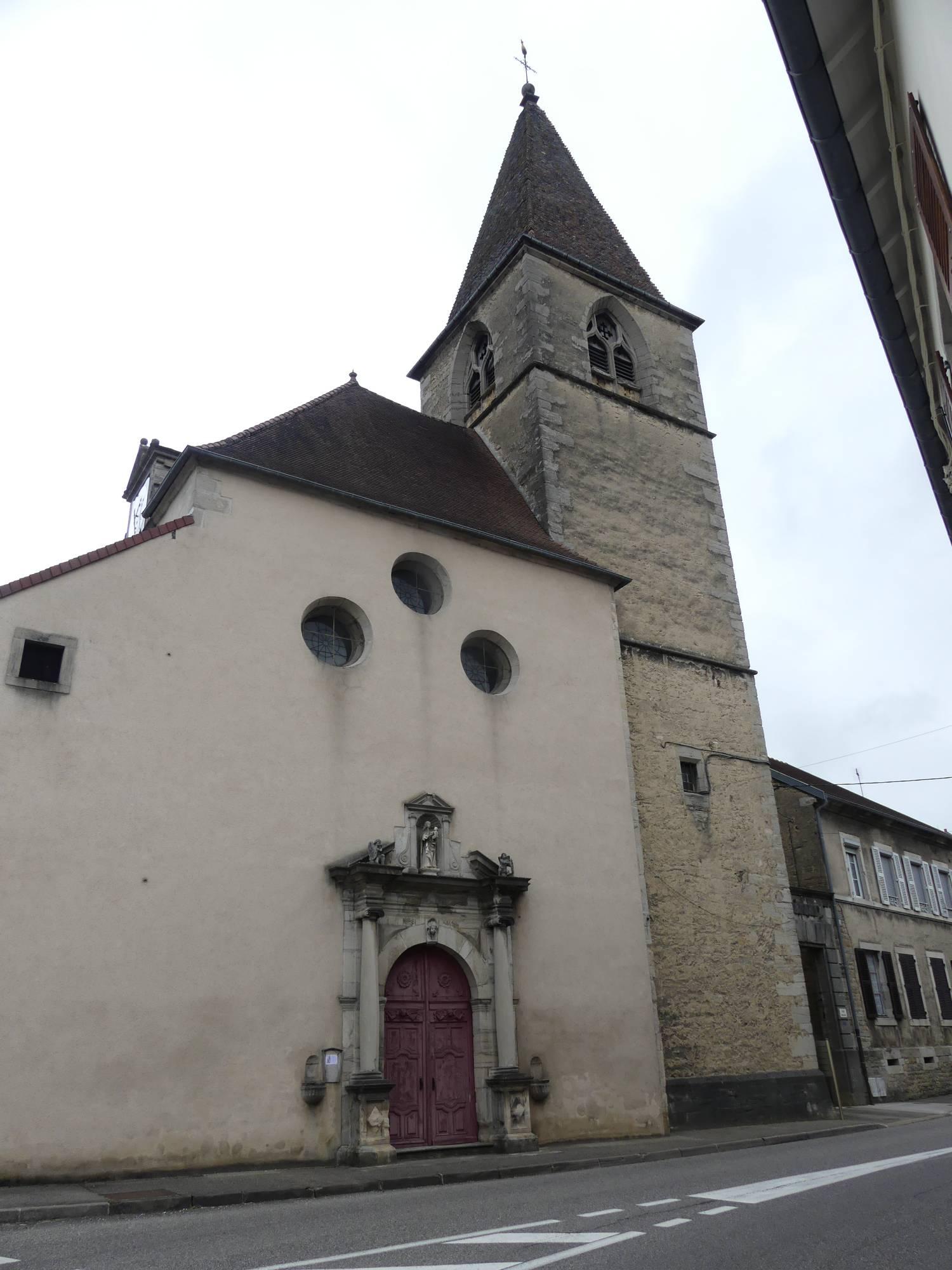 Conliège (39) - église ND de l'Assomption