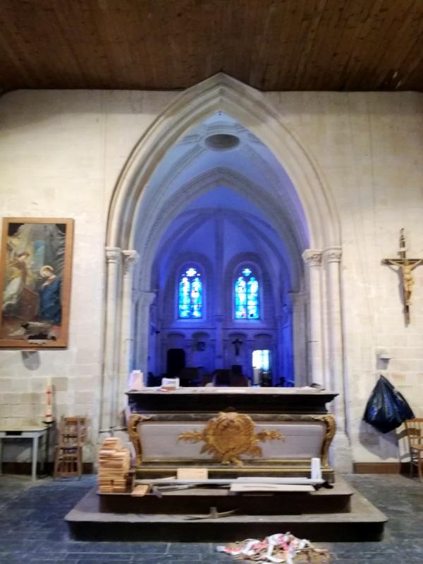 Cairon (14) Eglise Saint-Hillaire
