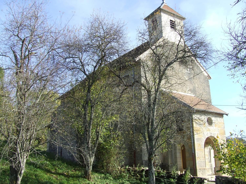 Eternoz Eglise Saint-Pierre et Coulans-sur-Lison (25) SAF
