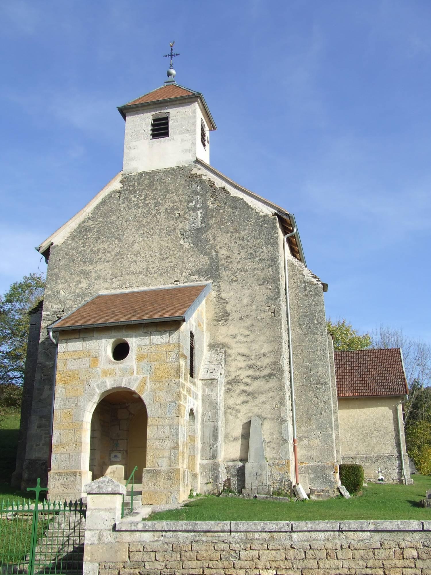 Eternoz Eglise Saint-Pierre et Coulant-sur-Lison (25) SAF