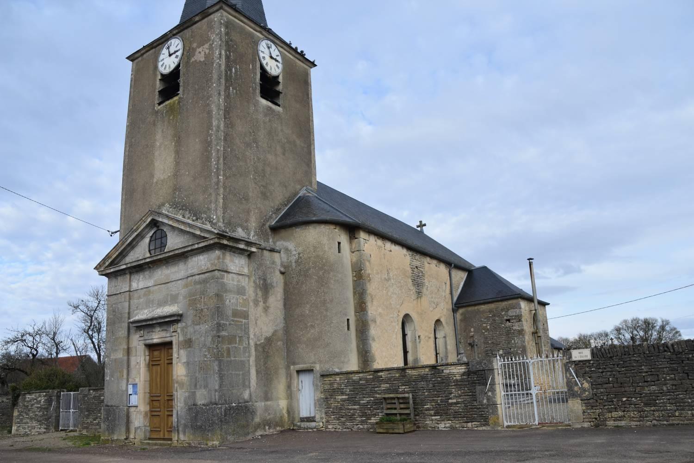 Fontaines-les-Sèches (21) - église Saint-Eloi - La Sauvegarde de l'Art Français