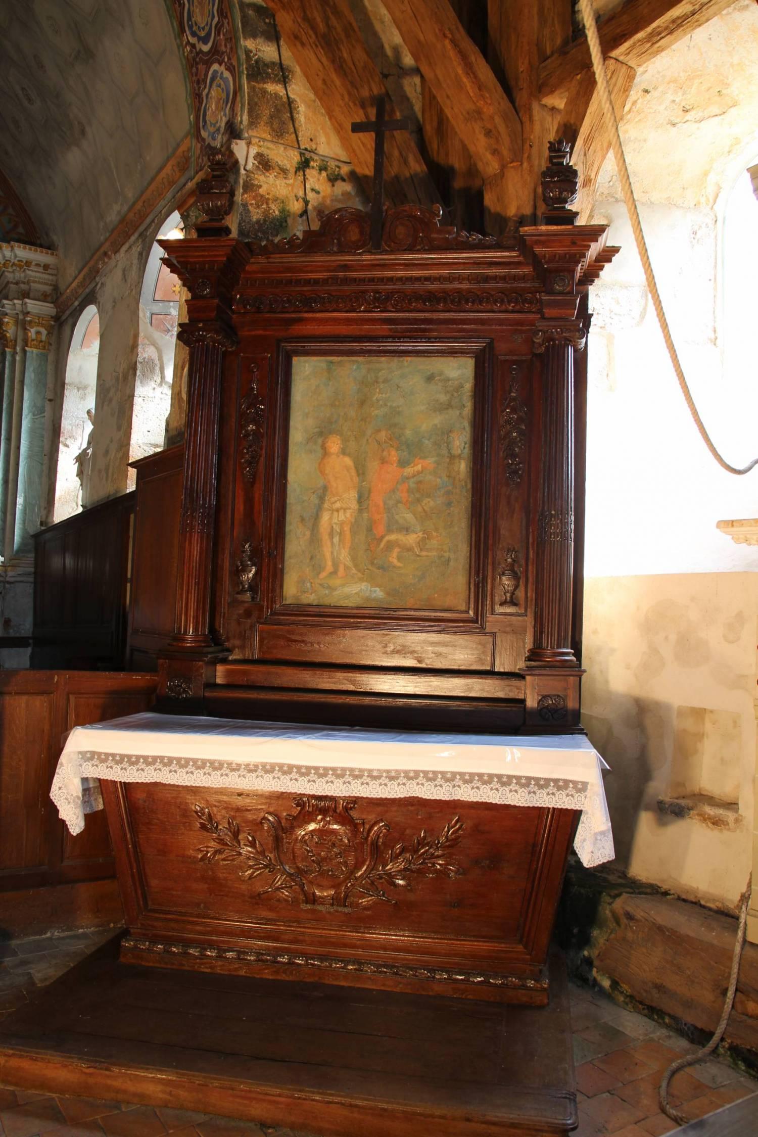 Noyers (45) - Eglise Saint-Pierre-et-Saint-Genou